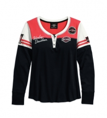 Harley-Davidson dames long sleeve shirt